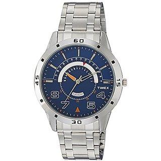 Timex Analog Blue Dial Mens Watch-TW000U907