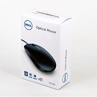 Dell MS116 Optical USB 2.0 1000 DPI Best Scroll Wheel Mouse Mouse
