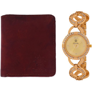 Rabela Women's Watches and Wallet Combo Pack RWWG-1018