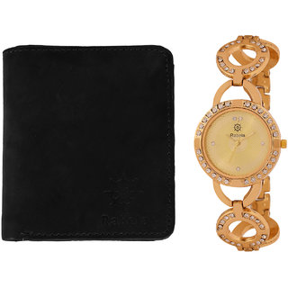 Rabela Women's Watches and Wallet Combo Pack RWWG-1023