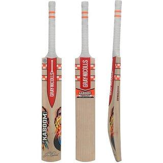 GRAY-NICOLLS Kaboom GN English Willow Cricket Bat (Short Handle .900 kg)