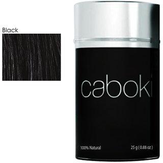 Caboki Hair Building Fiber - Black 25gm Natural Keratin Protein Hair Fibers
