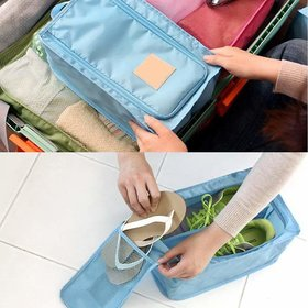 TGS - Travel Shoe  Slipper Bag (Color May Vary)