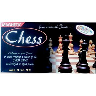 Magnetic Chess Folding Travel Set - 10 Board Game