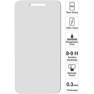 Redmi 5A Premium Tempered Screen Protector Glass With installation kit
