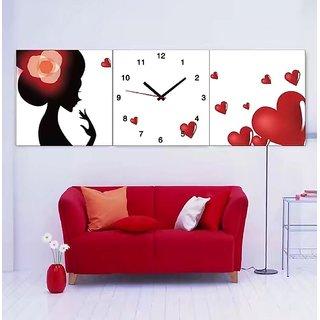 Wall Clock set 3 pieces