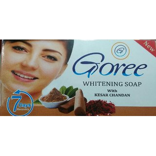 New Goree whitening soap with kesar chandan result within 5 days gauranteed