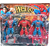 NMJ Avengers Super Heroes 3 In 1 Action Figure Set with Projection Light 15 cms height - Gift Set for Your Kids - SPIDER