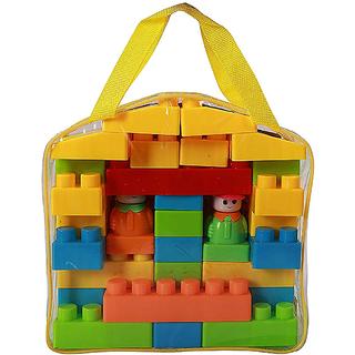 NMJ Kid's Plastic Building Blocks Educational Kids Puzzle Construction Toy  My Blocks