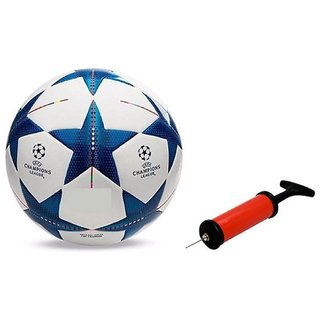 Bluestar UEFA Football + Air Pump