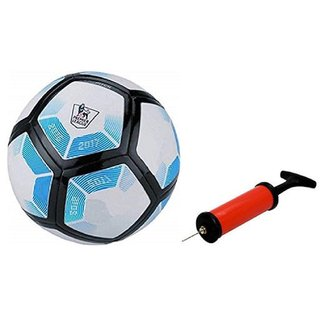 Laliga Blue White Football + Air Pump