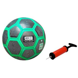 Duro Green Football + Air Pump