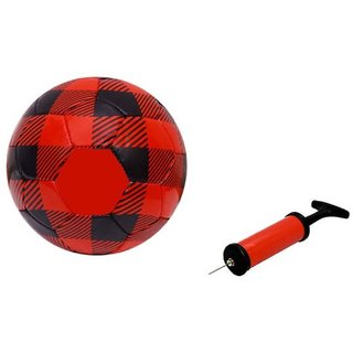 FCB Red Football + Air Pump