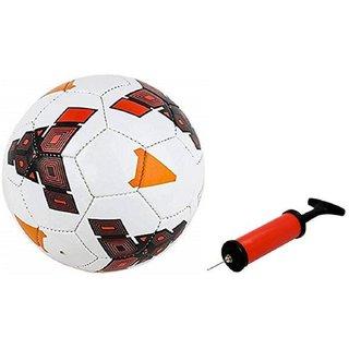 Strike Red Football + Air Pump