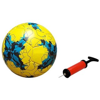 Russia 2017 Yellow Football + Air Pump