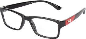 Adine Clear UV Protection Rectangular Unisex Sunglasses