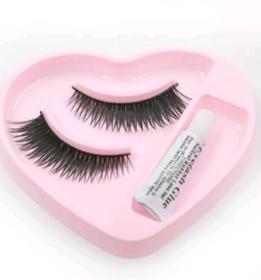 Best  Quality  Black Natural False Eyelashes Fake Eye Lashes