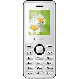 I Kall K66 Multimedia Mobile White with Manufacturer Warranty (White)