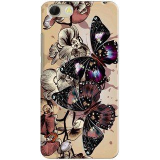 PREMIUM STUFF PRINTED MOBILE BACK CASE COVER FOR VIVO Y53 DESIGN ALPHA3550