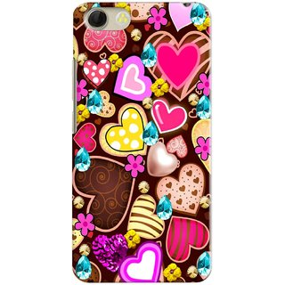 PREMIUM STUFF PRINTED MOBILE BACK CASE COVER FOR VIVO Y53 DESIGN ALPHA3523
