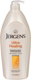 Jergens Ultra Healing Repair For Visibly Healthier Skin With Vitamin C,E  B5 Extra Dry Skin Moisturizer 600ml