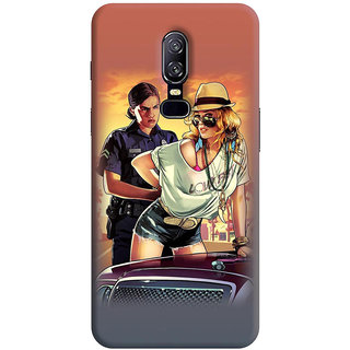 FABTODAY Back Cover for OnePlus 6 - Design ID - 0144