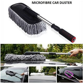 Car Wash Cleaning Brush Duster Microfiber Dusting Tool