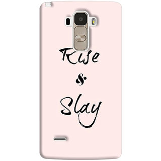 FABTODAY Back Cover for LG G4 Stylus - Design ID - 0613