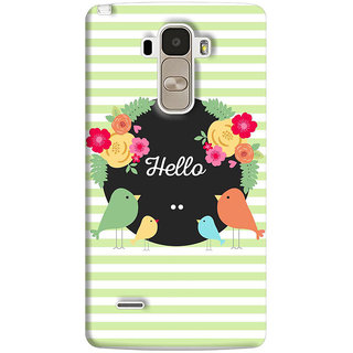 FABTODAY Back Cover for LG G4 Stylus - Design ID - 0618