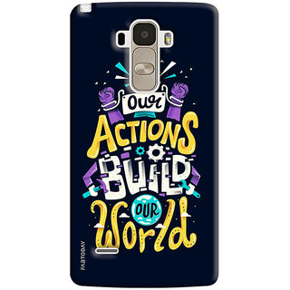 FABTODAY Back Cover for LG G4 Stylus - Design ID - 0258