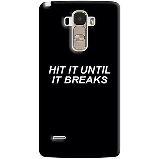 FABTODAY Back Cover for LG G4 Stylus - Design ID - 0989