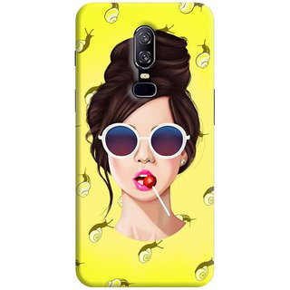 FABTODAY Back Cover for OnePlus 6 - Design ID - 0656