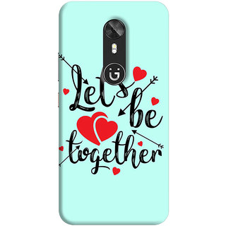 FABTODAY Back Cover for Gionee A1 - Design ID - 1008