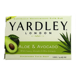 Yardley London Aloe and Avocado With Creamy Avocado Olive Extracts Nourishes Your Skin 120 g