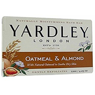 Yardley London Oatmeal Almond With Natural Oatmeal To Soother Dry Skin