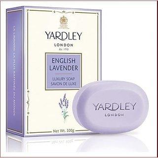 Yardley London English Lavender Luxury Soap 3 x 100 g