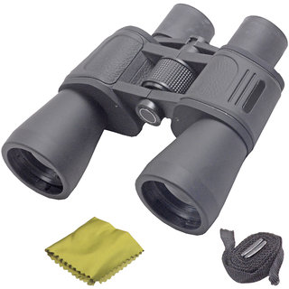 Powerful Bushnell HIGH QUALITY 10X50 Prism Binocular Telescope Set Of 1 Pic-15