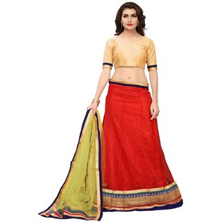 e4b5d045c3 Buy Aika Women's Net Semi-Stitched kedar Green Lehenga (LEC050TA0620)  Online - Get 75% Off