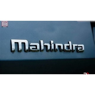 MAHINDRA VERITO CAR MONOGRAM /LOGO/EMBLEM chrome emblem