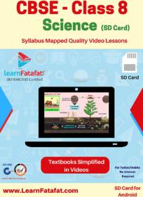 CBSE Class 8 Science Video Course SD Card
