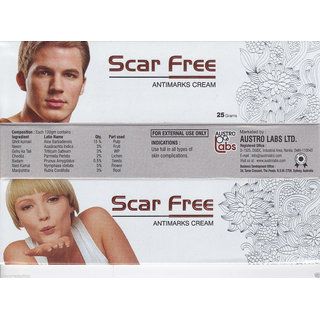 Scar free anti marks cream pack of 2