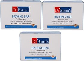 Dr. Batra's Bathing Bar (pack of 3)  (125 g)