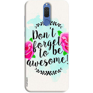 FABTODAY Back Cover for Huawei Honor 9i - Design ID - 0239
