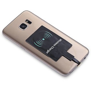 Tech Gear Android QI Wireless Charging Adapter (Black)