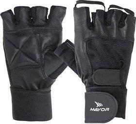Mayor Black Gloves