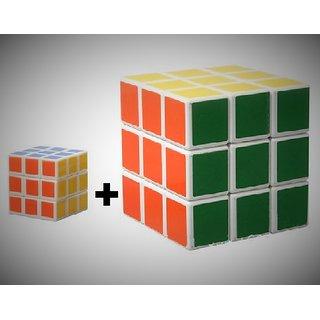 RF COMBO (Big+Small) Rubik's Cubes Puzzle Matching Box, Magic Cube Gift Game Toys