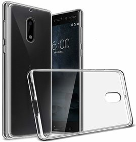 Nokia 6 Soft Silicon Cases D  Y - Transparent