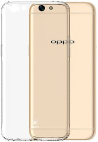 Oppo F1s Soft Silicon Cases D  Y - Transparent