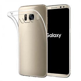 Samsung S8 Soft Silicon Cases D  Y - Transparent