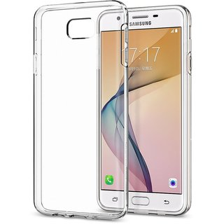 Samsung on7 prime Soft Silicon Cases D  Y - Transparent